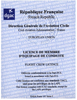 LICENCE PPLA